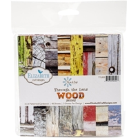 Picture of Through The Lens Paper Pad 15X15 - Wood