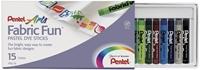 Εικόνα του Fabric Fun Pastel Dye Sticks - Set of 15