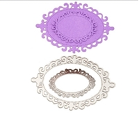 Picture of Decorative Die - Oval Frames