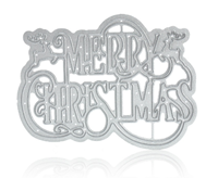 Picture of Decorative Die - Merry Christmas