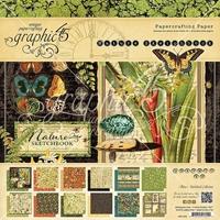 Εικόνα του Μπλοκ Χαρτιων Graphic 45 30.5X30.5 - Nature Sketchbook