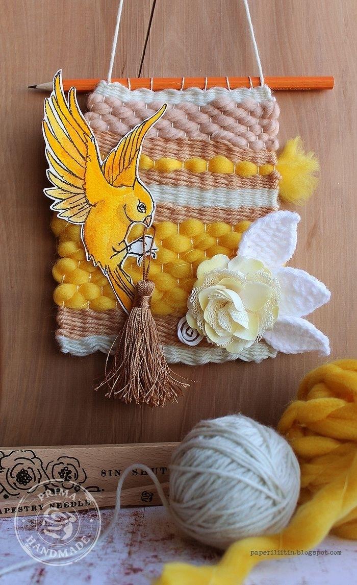 Martha Stewart Crafts DIY Weaver Starter Kit-Scraps n Pieces