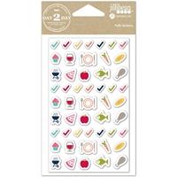Εικόνα του Day2Day Planner Puffy Stickers - Meal Time