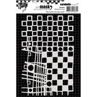 Εικόνα του Carabelle Studio Mask A6 - Squares & Circles