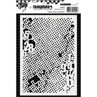 Εικόνα του Carabelle Studio Template A6 - Weft Fabric & Numbers
