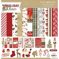 """Εικόνα του Photo Play Collection Pack 12""""X12"""" - Holiday Cheer, Prints"""