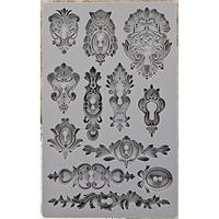 Picture of Iron Orchid Designs Vintage Art Decor Mould - Keyholes