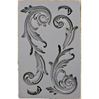Picture of Iron Orchid Designs Vintage Art Decor Mould - Large Flourish