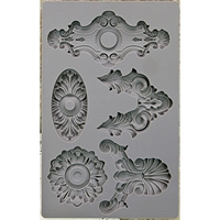 Picture of Iron Orchid Designs Vintage Art Decor Mould - Escucheons 2