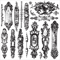 Εικόνα του Iron Orchid Designs Decor Clear Stamps  - Hardware II