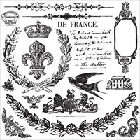 Εικόνα του Iron Orchid Designs Decor Clear Stamps  - Laurel