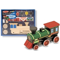 Εικόνα του Melissa & Doug Decorate Your Own Wooden Kit - Train