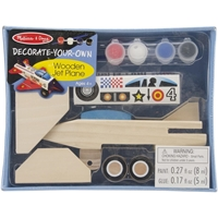 Picture of Decorate Your Own Wooden Kit - Jet Plane