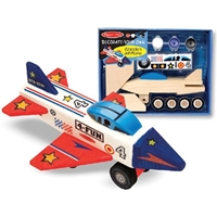 Εικόνα του Decorate Your Own Wooden Kit - Jet Plane