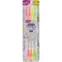 Picture of Tulip Dual-Tip Fabric Markers - Neon