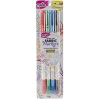 Picture of Tulip Dual-Tip Fabric Markers - Primary