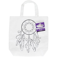 Εικόνα του Tulip ColorMe Canvas Tote - Dream Catcher