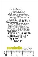 Εικόνα του Cling Stamp Mini - Σφραγίδα - Leçon de typographie