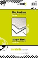 Εικόνα του Ακρυλική βάση για σφραγίδες - Acrylic Block A5