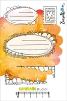 Picture of Cling Stamp A6 - Art Mailing by Zorrotte