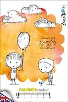 Εικόνα του Cling Stamp A6 - Σφραγίδες - Innocence by Zorrotte