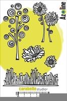 Εικόνα του Cling Stamp A6 - Σφραγίδες - Nature ébouriffée by Azoline