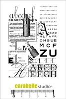 Εικόνα του Cling Stamp A7 - Σφραγίδα - Typographie