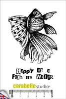 Εικόνα του Cling Stamp A7 - Σφραγίδες - Happy as a Fish