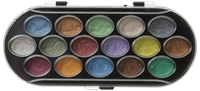 Picture of Yasutomo Pearlescent Watercolor - Set of 16