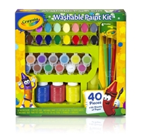 Εικόνα του Crayola Washable Kid's Paint Kit