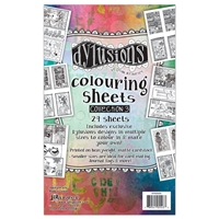 Picture of Dylusions Coloring Sheets 3