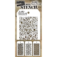 Εικόνα του Tim Holtz Mini Layered Stencil - Set 24
