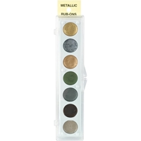 Εικόνα του Metallic Rub-On Paint Palette - Kit 2