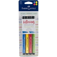 Picture of Faber-Castell Mix & Match PITT Artist Pens Lettering Set - Primary