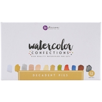 Picture of Prima Marketing Watercolor Confections - Decadent Pies