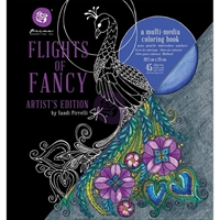 Εικόνα του Sandi Pirrelli Flights Of Fancy Coloring Book