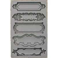Picture of Iron Orchid Designs Vintage Art Decor Mould - Object Labels 1