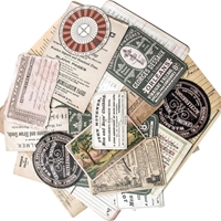 Εικόνα του Tim Holtz Idea-Ology Layers Cards - Collector