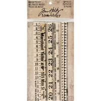 Picture of Idea-Ology Wooden Ruler Pieces