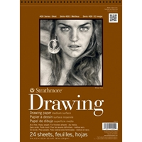 Εικόνα του Strathmore Medium Drawing Spiral Paper Pad 9''x12''
