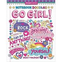 Εικόνα του Design Originals-Notebook Doodles: Go Girl!