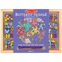Picture of Wooden Bead Set - Butterfly Friends