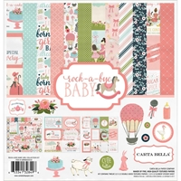 Εικόνα του Carta Bella Collection Kit 30.5Χ30.5 - Rock-A-Bye Baby Girl
