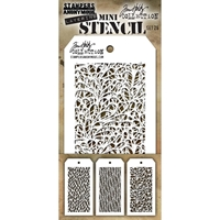 Εικόνα του Tim Holtz Mini Layered Stencil - Set 26