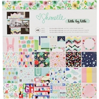 Εικόνα του American Crafts Single-Sided Paper Pad 12X12 - Shimelle Little By Little