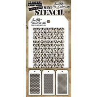 Εικόνα του Tim Holtz Mini Layered Stencil - Set 27