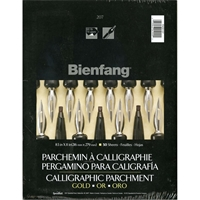 Picture of Bienfang Calligraphic Parchment Pad - Gold
