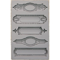 Picture of Iron Orchid Designs Vintage Art Decor Mould - Object Labels 2