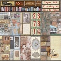 """Εικόνα του 7 Gypsies Double-Sided Paper Pad 8""""X8"""" - Architextures"""