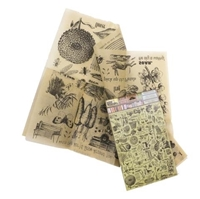 Εικόνα του 7 Gypsies Architextures Parchment Rub-Ons - Grow
